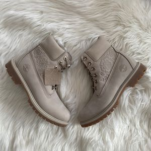 Timberland Premium Embossed 6 Inch Boots